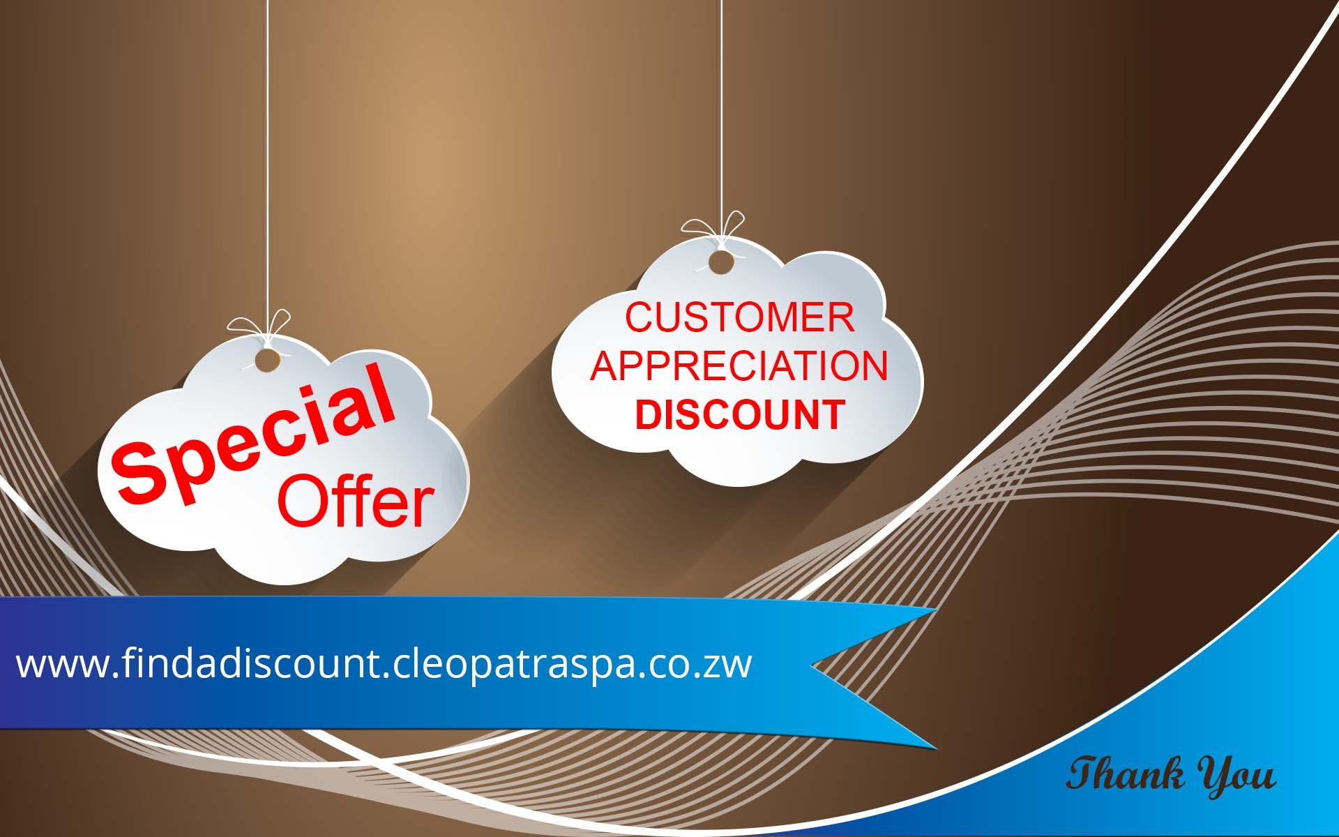 discounts findadiscount promotion cleopatra spa harare zim